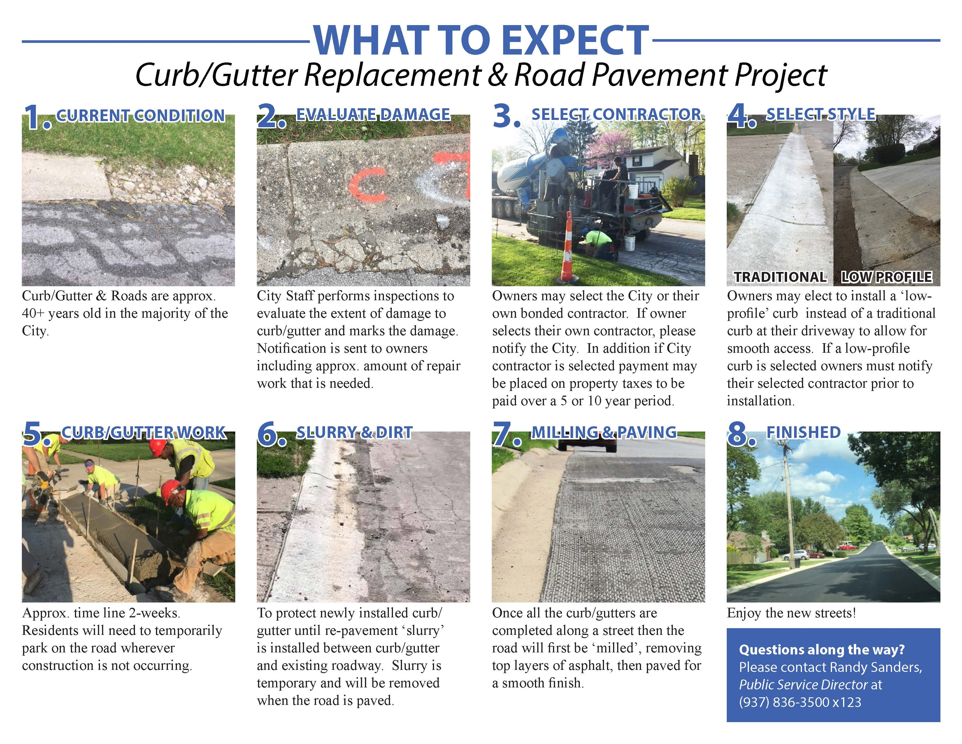 Road Project Expectations Flyer
