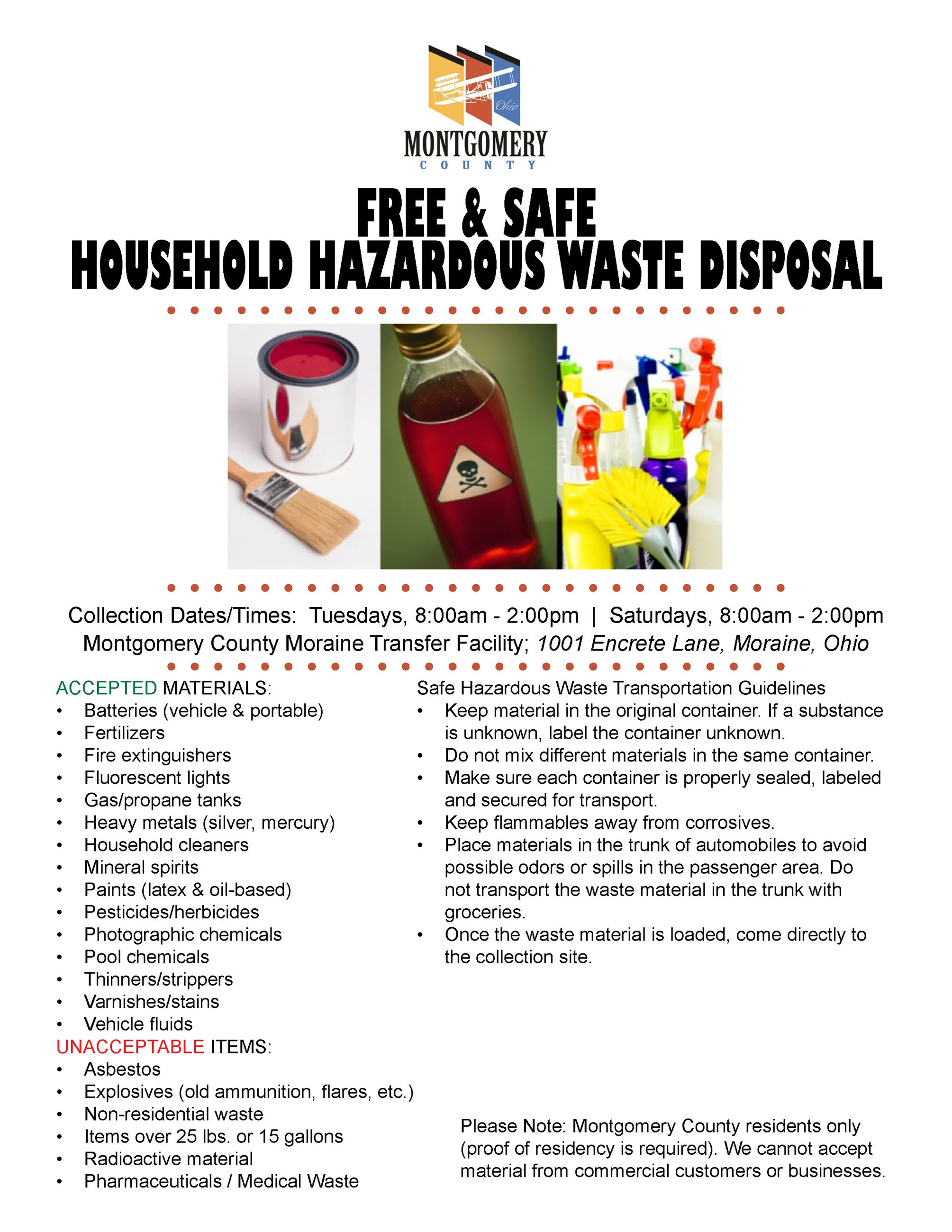 MC Hazardous Waste Flyer