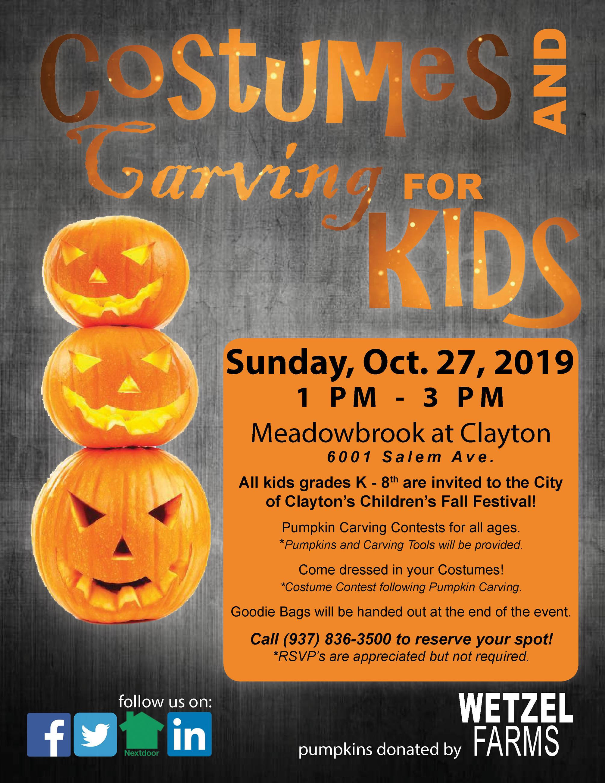 2019 Carving Flyer